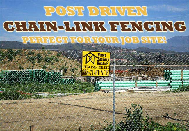 Fence Factory Rentals