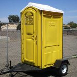 Towable Construction Portable Toilet Rental