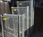 Chainlink Fence Supplies near Obispo Rd, Atascadero CA from Fence Factory Rentals.